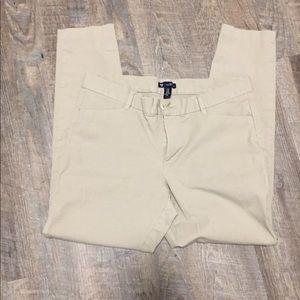 Gap slim city khaki pants